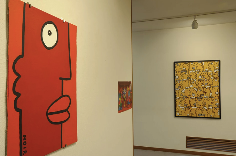 KOUICHI FINE ARTS Thierry Noir Exhibition 3