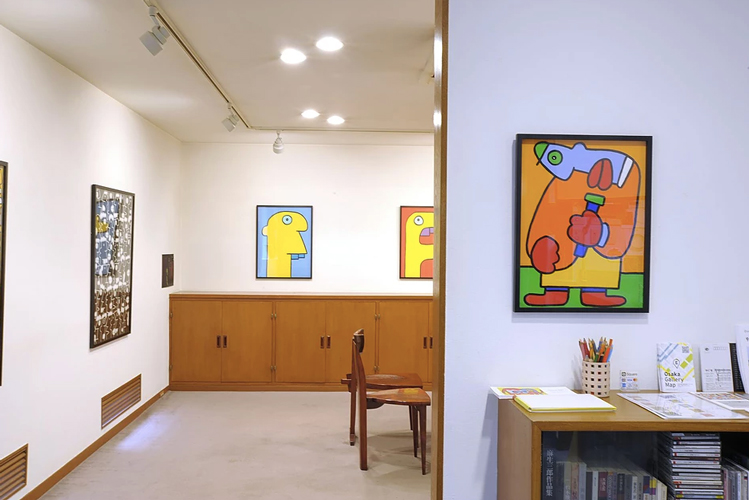 KOUICHI FINE ARTS Thierry Noir Exhibition 4