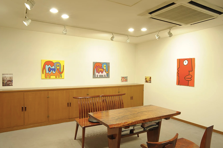 KOUICHI FINE ARTS Thierry Noir Exhibition 5