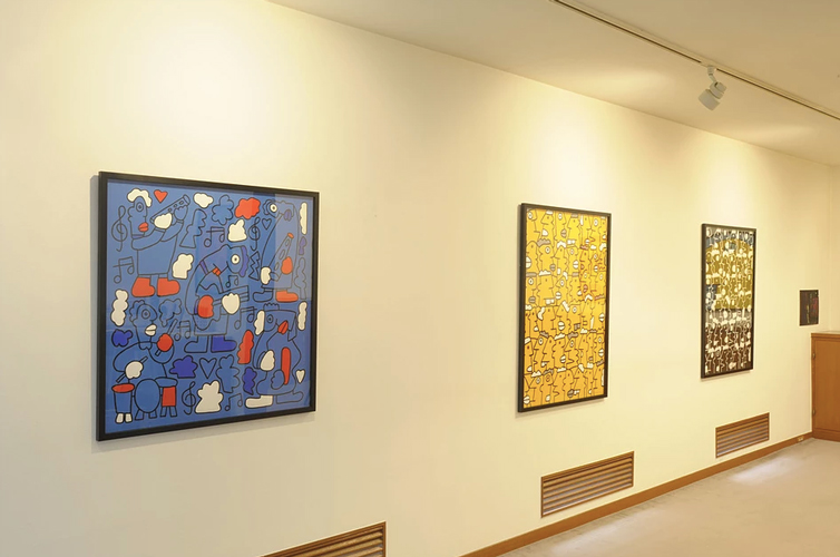 KOUICHI FINE ARTS Thierry Noir Exhibition 6