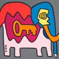KOUICHI FINE ARTS Antonio the Elephant from Milano