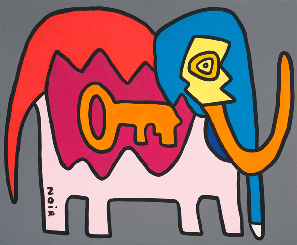 KOUICHI FINE ARTS Antonio the Elephant from Milano