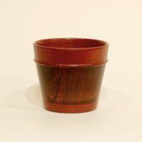豆子カップ (拭き漆) Megumi Ito