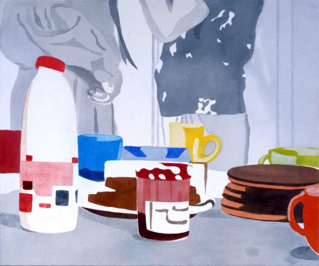 Breakfast 5 Mari Kuroda