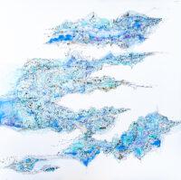 Time 満ちて行く時 Nobuko Sugio Kouichi Fine Arts art gallery osaka アートギャラリー 大阪