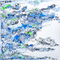 Walk home 歩いて帰ろう Nobuko Sugio Kuichi Fine Arts アートギャラリー 大阪