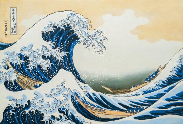 神奈川沖浪裏 The Great Wave of Kanagawa Shinji Ogawa KOUICHI FINE ARTS