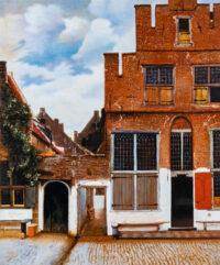 Street in Delft 小路 Shinji Ogawa