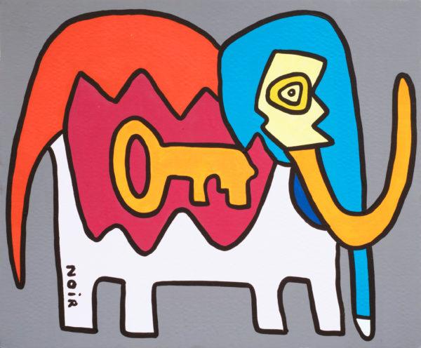 Antonio the Elephant from Milano