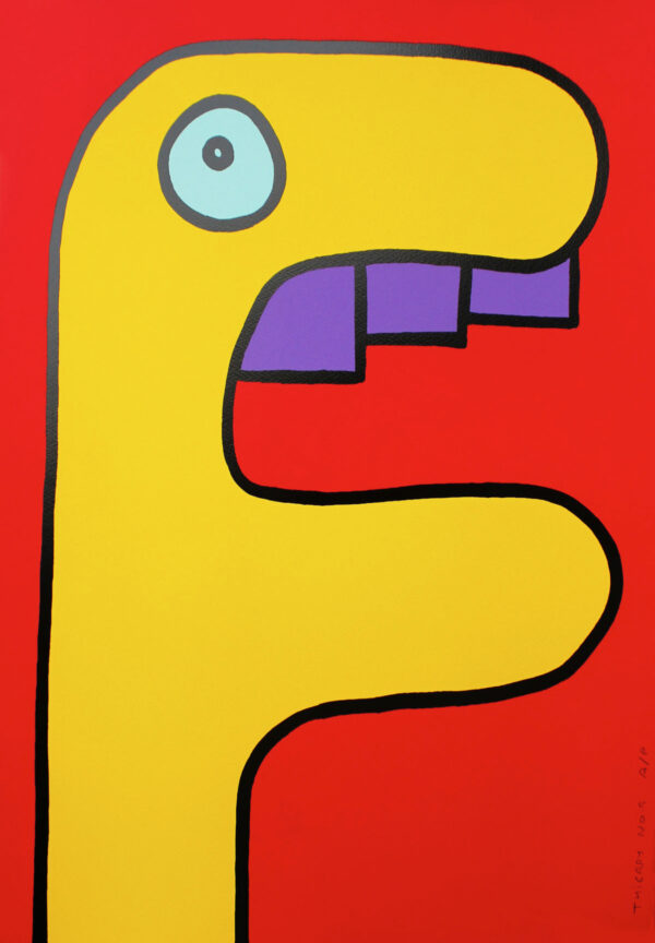 Yellow Crocodile Thierry Noir