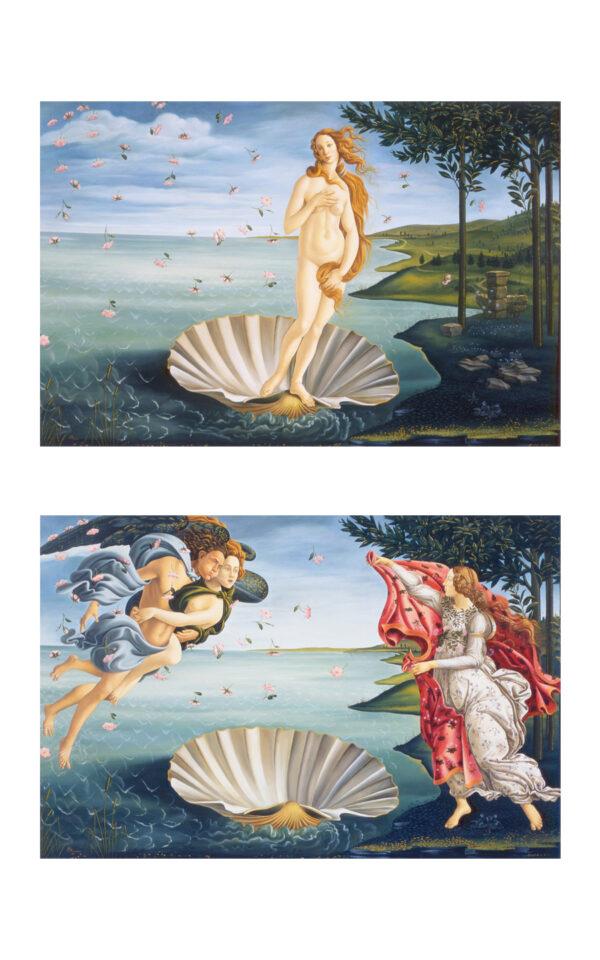 LA NASCITA DI VENERE Ⅰ & Ⅱ Shinji Ogawa KOUICHI FINE ARTS