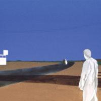 The blue in the desert / Priscilla Mari Kuroda KOUICHI FINE ARTS