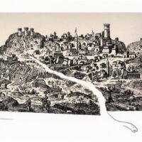 Snake in the medieval city Shinji Ogawa