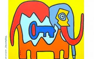 Elephant Key DM KOUICHI FINE ARTS