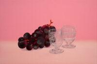 Grape -Liquor Glass- Mari Kuroda Kouichi Fine Arts Osaka Japan