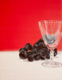 Grape -Wine glass- Mari Kuroda Kouichi Fine Arts art gallery Osaka Japan
